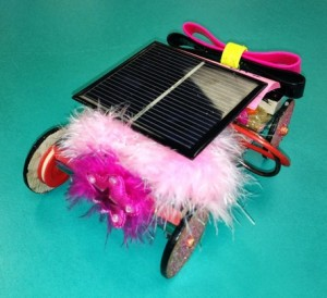 solar toy decorated