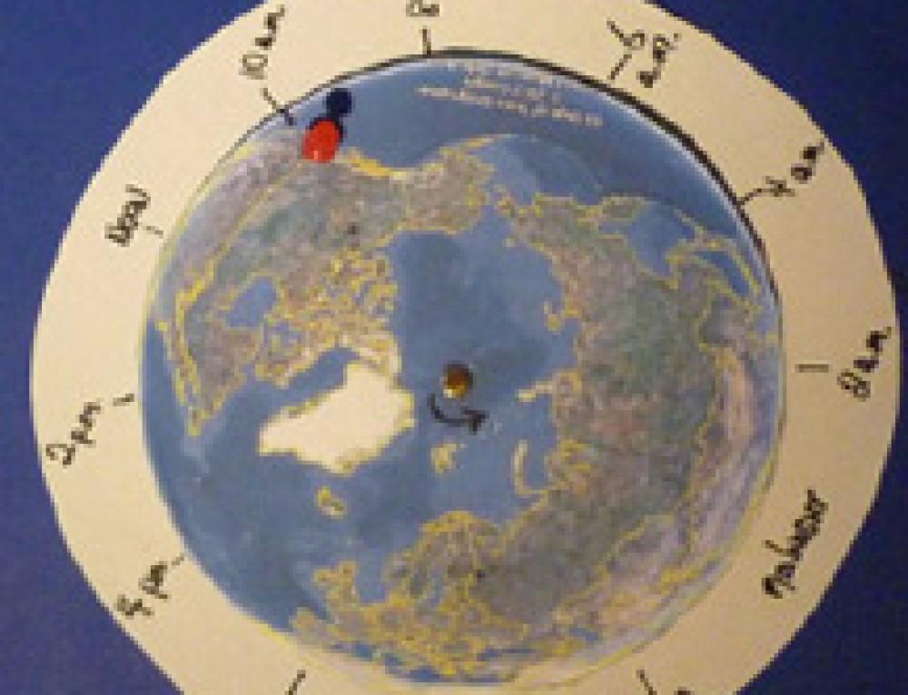 Solar Day Clock