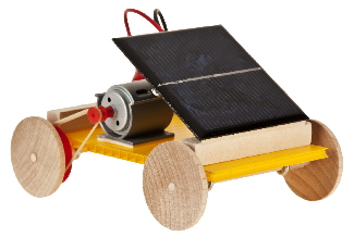 our simplest solar car kit with pulleys and wooden wheels easily assembled build your own solar car using the supplied coroplast or build onto recycled