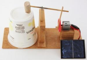 solar toy drum