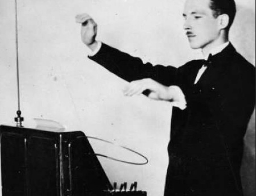 Happy Birthday Theremin